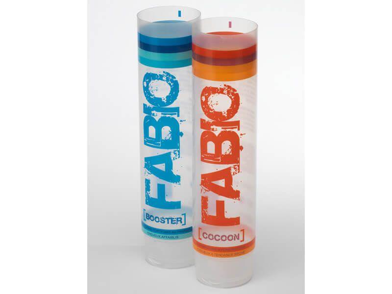 Tube plastique transparent