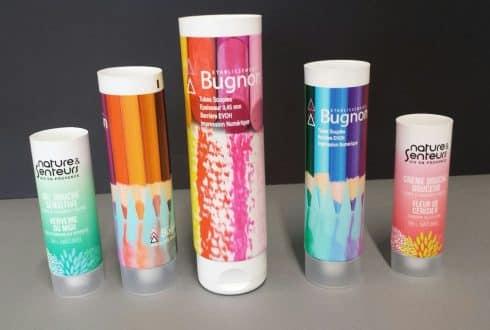 Evolution de notre tube laminé multicouche décor numérique